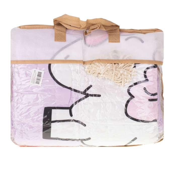 Mata dywan dla dziecka okrągła jednorożce 144cm